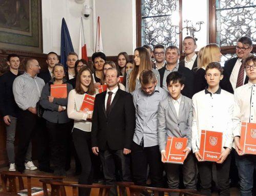 Prezydent Słupska nagrodził sportowców i trenerów