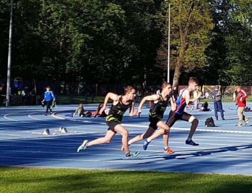 Udana Inauguracja sezonu lekkoatletów AML Słupsk w Białogardzie.